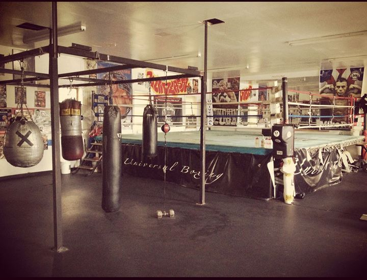 Universal boxing gym gyms near me new york