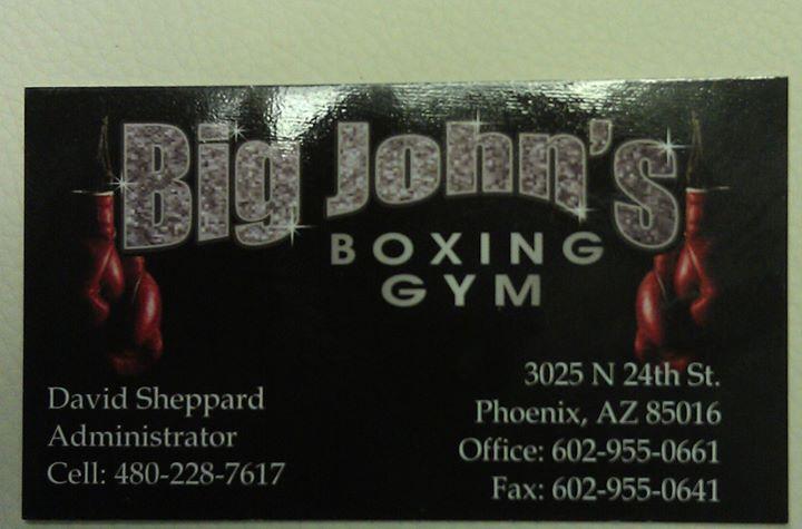 big johns boxing gym  u2013 boxing gyms  u2013 phoenix  arizona